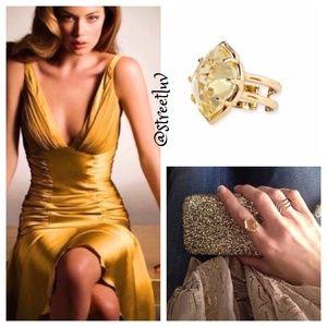 stella & dot arabesque cocktail ring